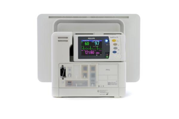 Philips IntelliVue Monitoring MX550 - Rückseite mit X2