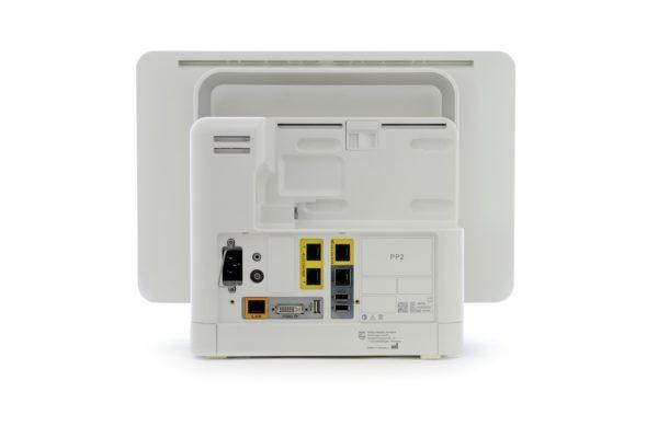 Philips IntelliVue Monitoring MX550 - Rückseite mit speziellen Anschlüssen