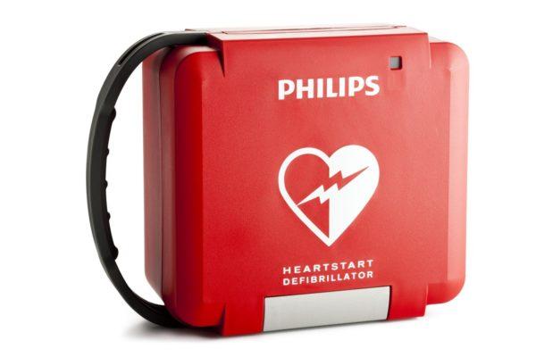 Der Koffer des Philips HeartStart FR3 ist sehr rubust und für den mobilen Einsatz geeignet.
