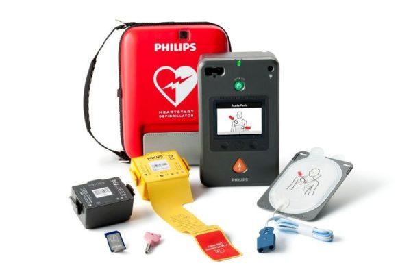 Philips HeartStart FR3 mit Zubehör
