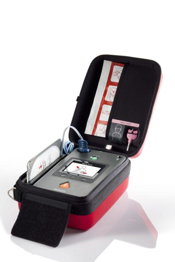 Philips HeartStart FR3 mit Zubehör erhalten Sie bei unserer Firma. Wir beraten Sie gerne!