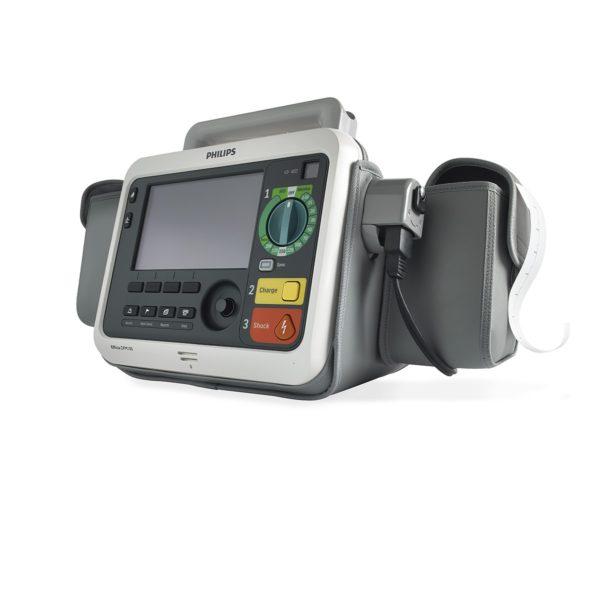 Der Philips Efficia DFM100 (NOCTN294) ist Defibrillator und Monitor in einem Gerät.