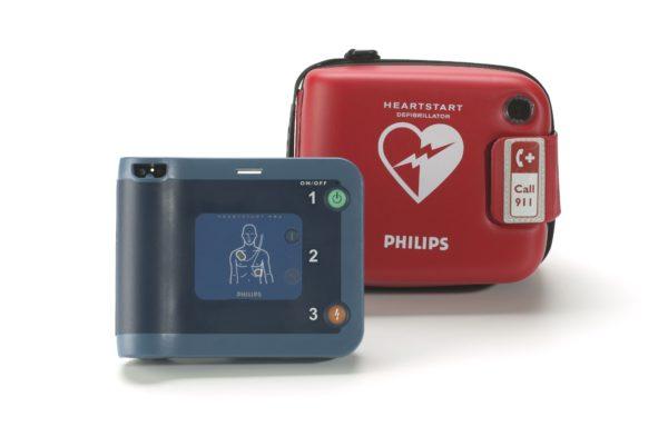 Philips HeartStart FRx Defibrillator mit Koffer für den Transport