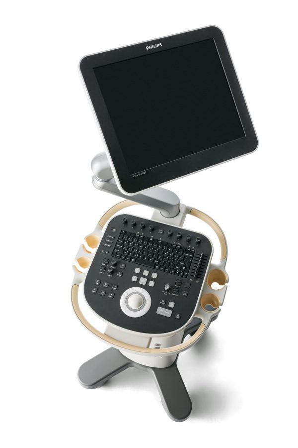 Philips ClearVue 650 Ultraschallsystem (Artikelnummer: 795220)